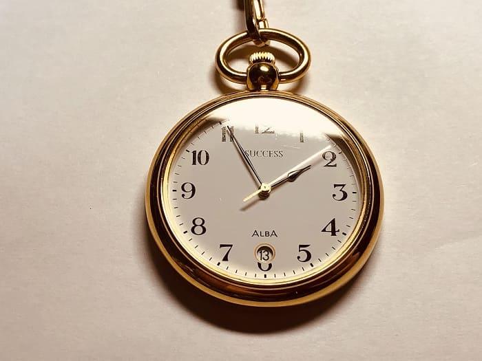 アルバ 懐中時計