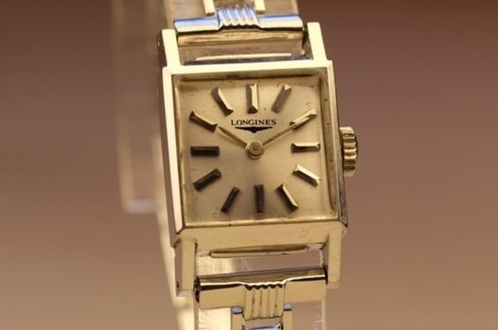 14Kのビンテージ時計の写真