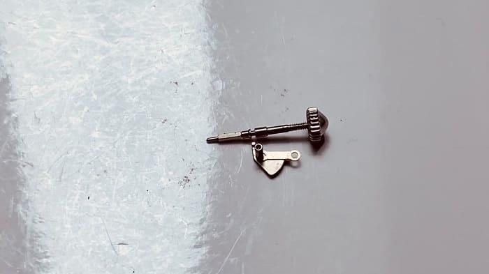 オシドリと巻き芯の画像